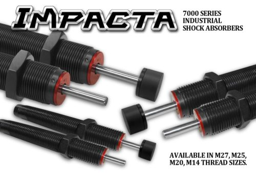 Deschner Impacta 7000 Industrial Shock Absorber Series - Servo Motor Alternative