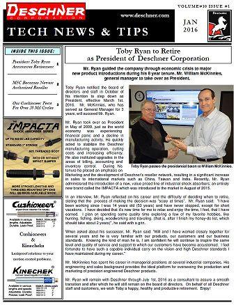 Deschner Newsletter #10 - Jan 2016